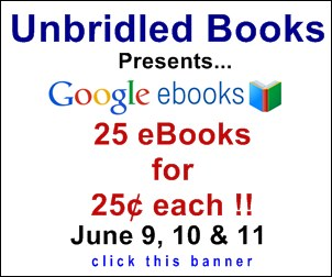 Unbridled Offers 25 eBooks for 25 Cents