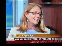 WTVR-CBS Interviews Virginia Pye